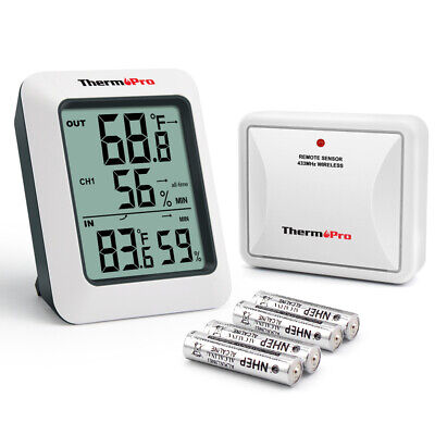 $15.99 • Buy ThermoPro Digital Hygrometer Humidity Home Outdoor Thermometer Temperature Meter