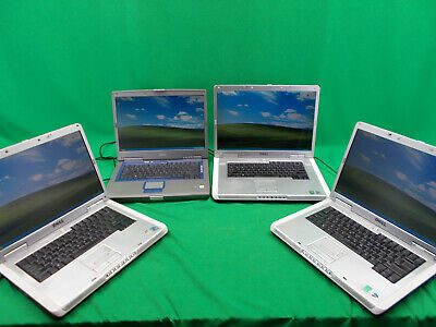 $ CDN207.05 • Buy Mix Lot Of 4 Dell Inspiron Laptops 9300 8500 6000 Windows XP Pro