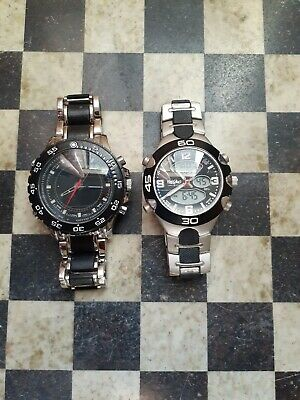 $ CDN49.68 • Buy Lot Of 2 Watches. US Polo Assn. US8170 And Mossimo Stainless Steel Watch