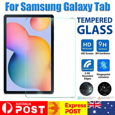 AU9.42 • Buy Tempered Glass Screen Protector For Samsung Galaxy Tab S6 Lite 10.4  SM P610 615