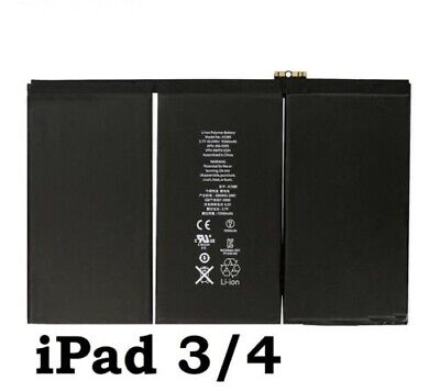 £10.65 • Buy New Replacement Battery For IPad 3 / 4 11560mAh A1458 A1459 A1460 A1430 A1403