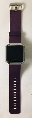 $ CDN48.31 • Buy FITBIT Blaze Activity Fitness Tracker - Large Purple Band - NO CHARGER
