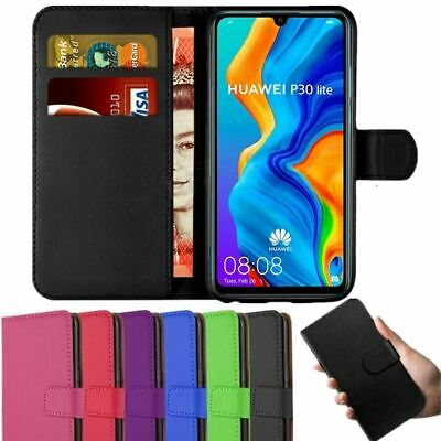 Case For Huawei P20 P30 Pro Lite 2019 Leather Magnetic Flip Wallet Stand Cover • 2.99£