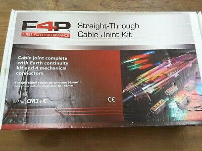 £44.99 • Buy F4P CM3+C Straight Resin Joint Kit For Cables Up To 95mm2 4 Core - BNIB