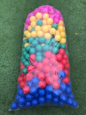 1000 Brand New Soft Play Balls -ball Pit, Pool ,  Commercial Grade - (8 Cm) • 160£