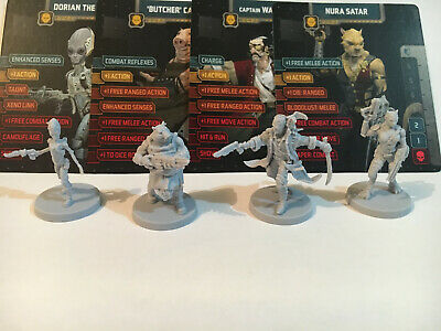 AU23.95 • Buy Zombicide. Invader, KS Civilian Box Characters. 'Defenders' Group Of Four.