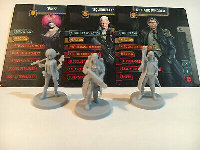 AU23.95 • Buy Zombicide. Invader, KS Civilian Box Characters. Pink, Squirrly, Richard Kindred