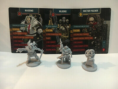 AU29.95 • Buy Zombicide. Invader, KS Soldier Box Characters, Kilgore, Massimo, Dr Fischer