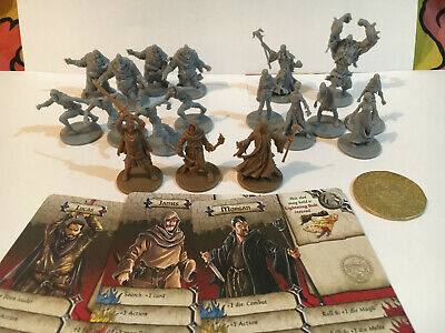 AU41.95 • Buy Zombicide. Huntsman Pack Mini Booster, 3 Characters, Zombies, First Player Coin.