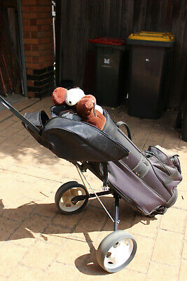 AU25 • Buy Golf Clubs - Right Handed, Women's Set - With Bag And Buggy. Mt Waverley 3149.