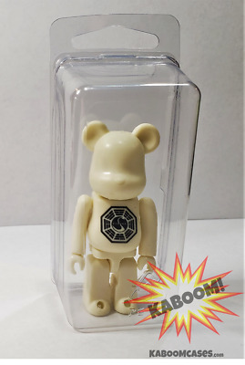 $7.99 • Buy 5 - Bearbrick 100% Plastic Cases Boxes Clamshells Storage Display Blister NEW!