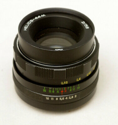 AU100 • Buy Helios 44-m 58mm F2 Pentax M42 Screw Mount Lens