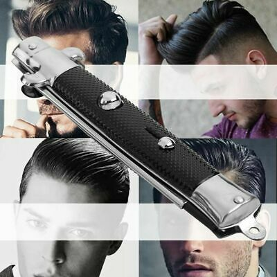 AU7.36 • Buy Spring Push Button Pocket Folding Comb Switch-blade Looking Hair Brushes MR