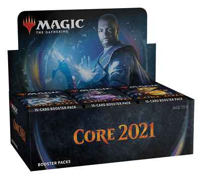 View Details Magic Core Set 2021 Booster Box Factory Sealed M21 Core Set 2021 Draft Boosters • 144.95$ CDN