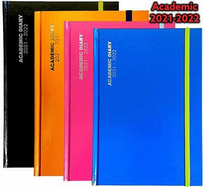 £5.99 • Buy 2021-2022 A5 /A4 Day To Page Academic Mid Year Diary Student Teacher Diary - NEW