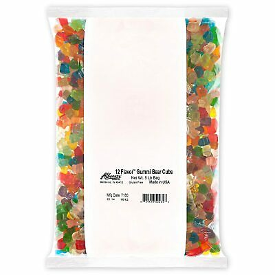 $32.99 • Buy Albanese Candy, 12 Flavor Gummi Bear Cubs, 5-pound Bag