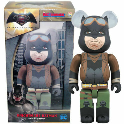 $179.99 • Buy Knightmare Batman 400% Bearbrick Medicom Be@rbrick DC Comics V Superman Rare