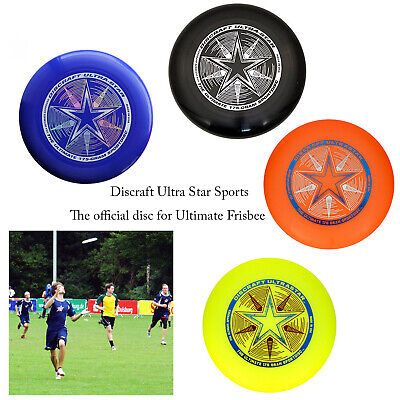 Discraft Ultimate Ultra-Star Fun 175g Sports Outdoor Athletic Frisbee Game Disc • 18.98£