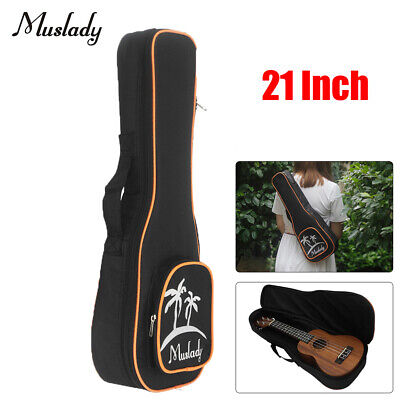 AU15.91 • Buy 21 Inch Soprano Ukulele Bag Uke Ukelele Zippered Case Coconut Tree Pattern