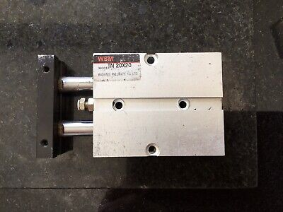 Pneumatic Cylinder 20mm Stroke Dual Block Cylinder • 8£