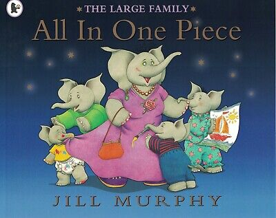 £3.99 • Buy Young Children's 'the Large Family' Picture Story Book: All In One Piece