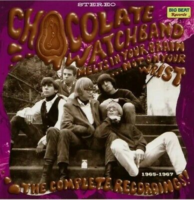 The Chocolate Watchband - Melts In Your Brain...Not On Your Wrist! (2xCD, Comp) • 18£