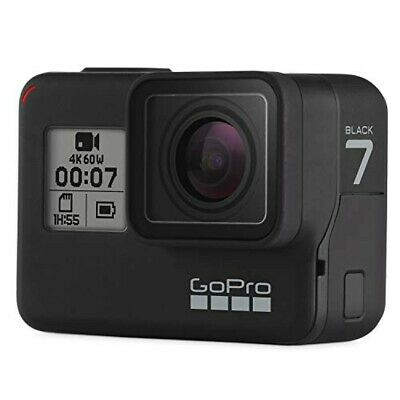 AU882.69 • Buy GoPro HERO 7 Black CHDHX-701-FW Black Wearable Action Camera From Japan NEW