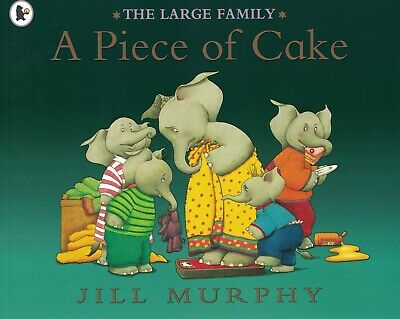 £3.99 • Buy Young Children's 'the Large Family' Picture Story Book: A Piece Of Cake