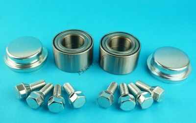 2 X Triple Sealed Wheel Bearings Caps Bolts For Ifor Williams P6E Trailer - K124 • 67.50£