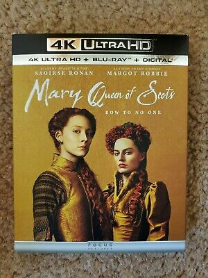 $2.99 • Buy Mary Queen Of Scots [4K Ultra HD Blu-ray/Blu-ray] [2018]
