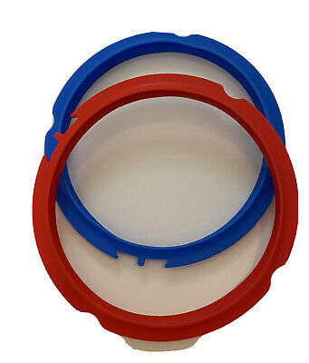 $8.60 • Buy Instant Pot Replacement Sealing Rings 2-Pack Mini 3 Quart Red/Blue New