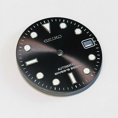 $ CDN65.20 • Buy SUB Dial For Seiko SKX007, Seiko MOD Part, Fits NH35, C3Lume, BLACK