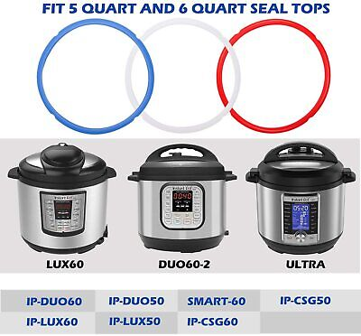 $ CDN21.78 • Buy Sealing Silicone Rings For Instant Pot Accessories Fits 3, 5, 6, 8 Quart Models