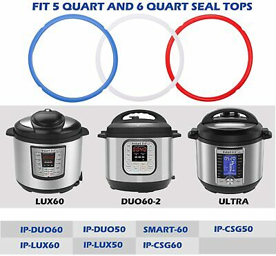 $18 • Buy Sealing Silicone Rings For Instant Pot Accessories Fits 3, 5, 6, 8 Quart Models