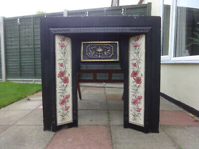 Victorian-style Cast Iron Fireplace Surround. Social Distance Collection Only. • 50£