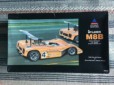 Accurate Miniatures McLaren M8B Highly Detailed1:24 Scale Plastic Model Kit • 45£