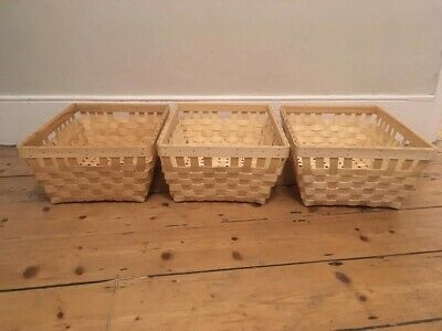 £4.99 • Buy IKEA KNARRA Baskets Natural Colour In Great Condition