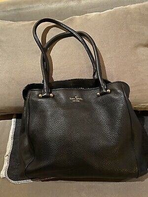 AU57 • Buy Classic Kate Spade Black Leather  Bag - Great Condition
