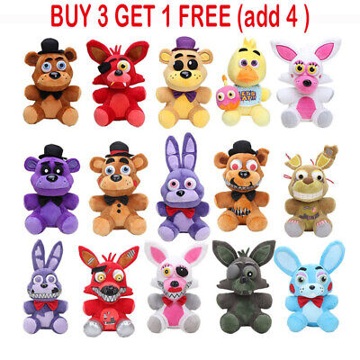 AU13.39 • Buy New Five Nights At Freddy's FNAF Horror Game Plush Doll Kids Plushie Toys Gifts