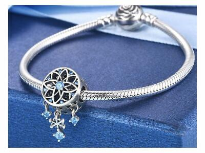 AU27.50 • Buy DREAM CATCHER SNOWFLAKE S925 Sterling Silver Charm By Pandora's Kings NEW