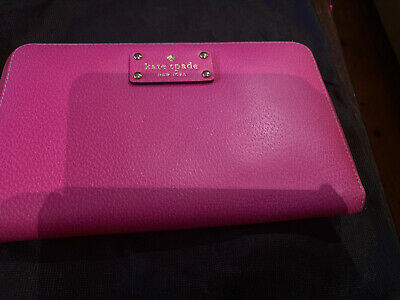 AU30 • Buy Kate Spade Pink Leather Travel Wallet Great Condition
