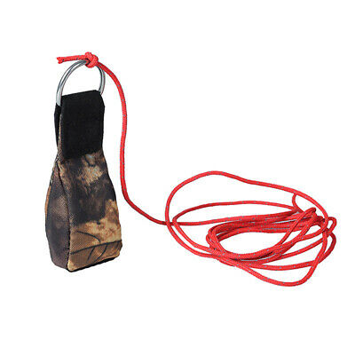 Climbing Safety Rope And Mini Sandbag For Outdoor Survival Fire Escape Emergency • 8.98£