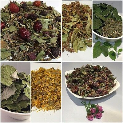 Herbal Tea - Dried Linden, Calendula (Marigold), Coltsfoot, Herbal Mix Flowers • 2.45£