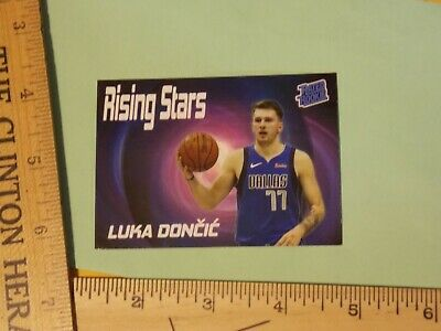 $1.75 • Buy  LUKA DONCIC 2018 RATED Rookie Card RC Rising Stars Mavs Trading Cards