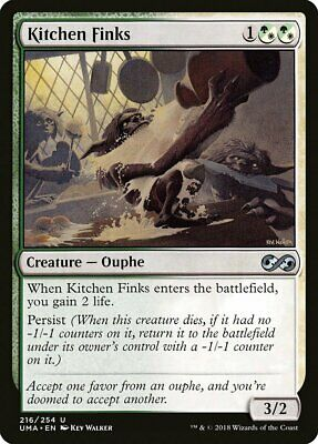 $1.95 • Buy Kitchen Finks Ultimate Masters NM White Green Uncommon MAGIC MTG CARD ABUGames