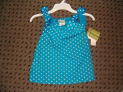 """$24.99 • Buy 9 Months """"Boutique"""" Polka Dot Easter Dress Great To Monogram For Birthday NWT"""