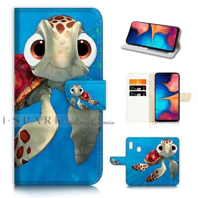 AU12.99 • Buy ( For Huawei Y9 Prime [2019])  Flip Case Cover AJ21273 Cartoon Turtle