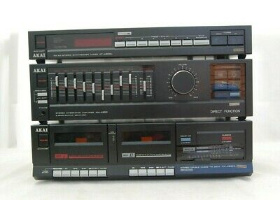 $126.06 • Buy Vintage Retro AKAI AM-A200 Amplifier Equalizer HX-A300W Tape AT-A200L Tuner GWO
