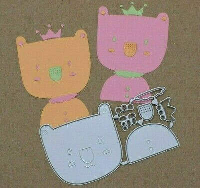 Quality Metal Cutting Die, Koala Bear Crown Kit, Card Making, Scrapbooking A9 • 3.25£