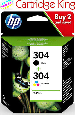 HP Original 304 Combo Pack Ink For HP Envy 5020 All-in-One Printer • 22.75£